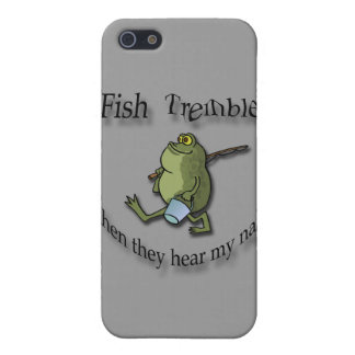 Fish Tremble When They Hear My Name  black frog Case For iPhone SE/5/5s