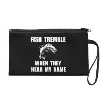 Fish Tremble Wristlet Purse