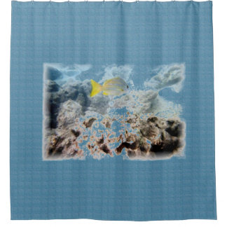 Fish Underwater Shower Curtain