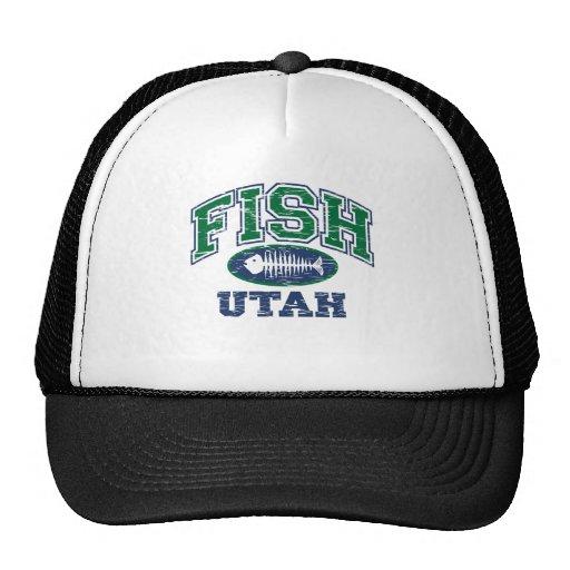 Fish Utah Trucker Hat