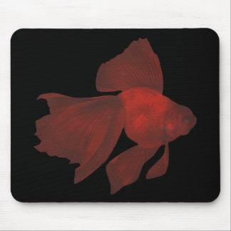 Fish - Veiltail Goldfish - Carassius auratus Mouse Pad