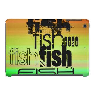 Fish; Vibrant Green, Orange, & Yellow iPad Mini Retina Covers