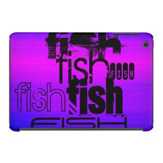 Fish; Vibrant Violet Blue and Magenta iPad Mini Retina Case