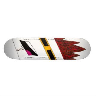 Fish Vs. The Mighty Godzilla Skateboard Decks