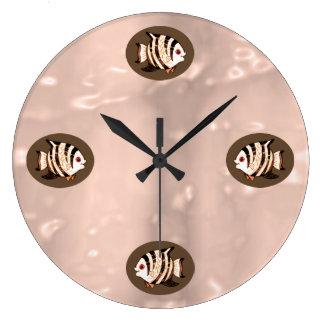 Fish Wall Clock by Janz Large