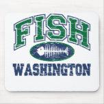 Fish Washington Mouse Pad