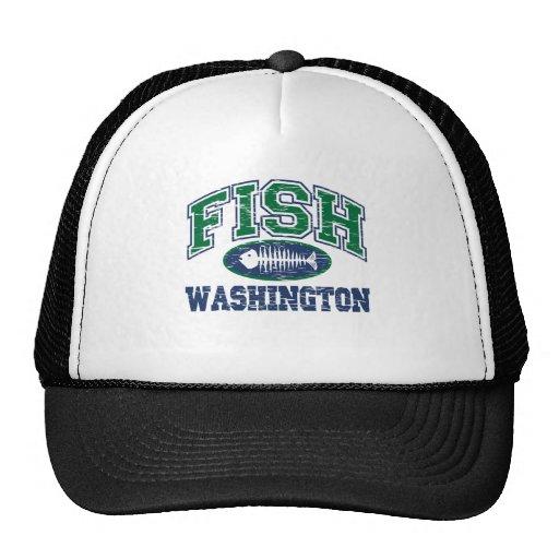Fish Washington Trucker Hat