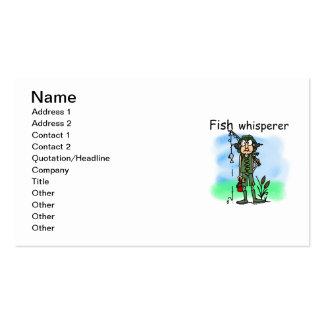 Fish Whisperer Business Card