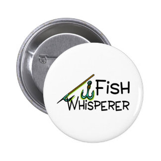 Fish Whisperer Button