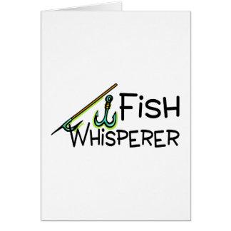 Fish Whisperer Greeting Card