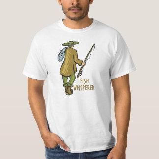 Fish Whisperer Fishing Tshirts