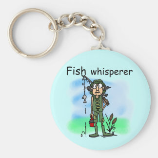 Fish Whisperer Key Chains
