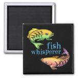 Fish Whisperer Refrigerator Magnet
