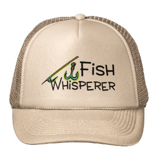 Fish Whisperer Trucker Hat