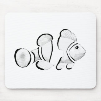 Fish White Vero Beach 2010 The MUSEUM Zazzle Gifts Mouse Pad