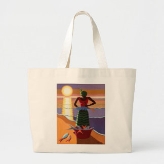 Fish Wife 2009 Large Tote Bag