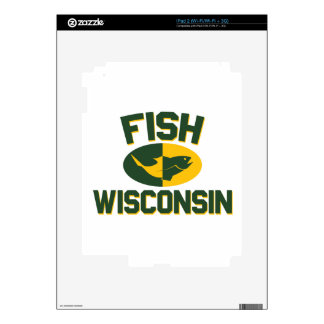 Fish Wisconsin Decal For The iPad 2