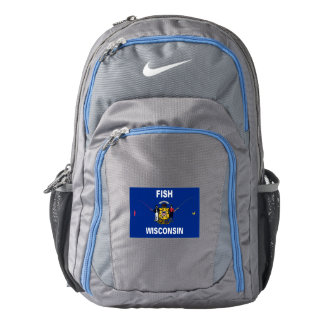 Fish Wisconsin Nike Backpack