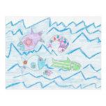 Fish Wish Post Card