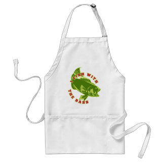 Fish With Bass Apron