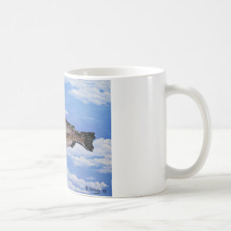 Fish with Bowler Coffee Mug