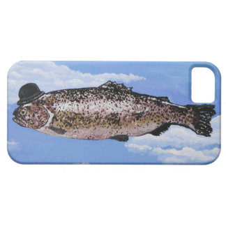 Fish with Bowler iPhone SE/5/5s Case
