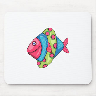 FISH WITH FLOAT MOUSEPADS