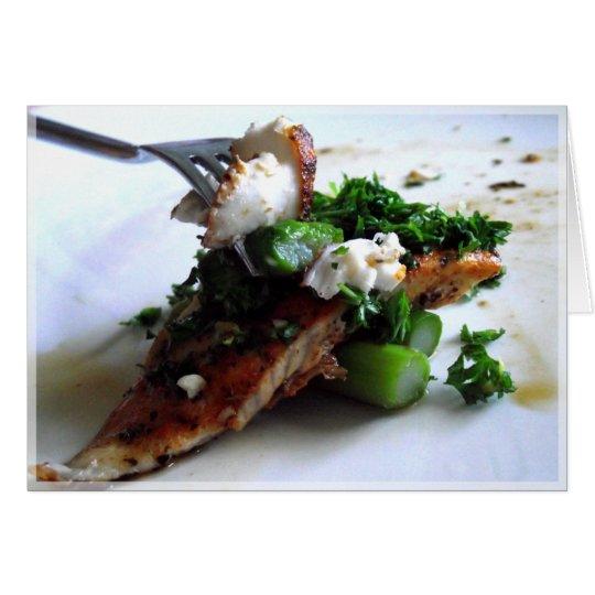 Fish with Lemon & Parsley Gremolata Card