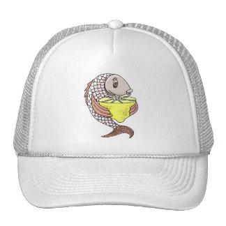 Fish With Lemon Trucker Hat