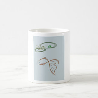 Fish With Lilypads and Frog Mugs