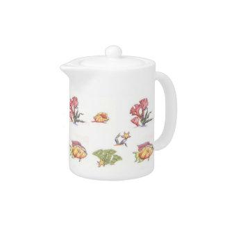 Fish World Teapot