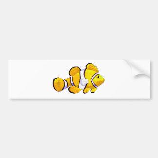 Fish Yellow Vero Beach 2010 The MUSEUM Zazzle Gift Bumper Sticker
