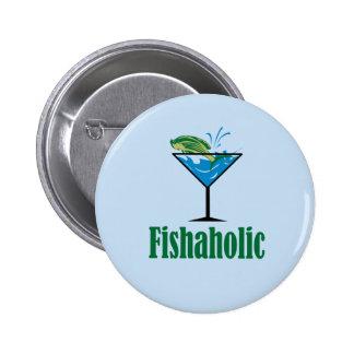 Fishaholic Pin Redondo 5 Cm