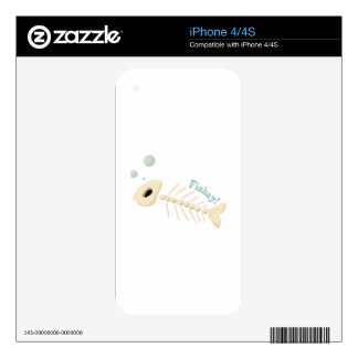 Fishay Skin For The iPhone 4S