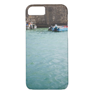 Fishboat in harbour Portugal iPhone 7 Case
