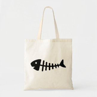 Fishbone Canvas Bag