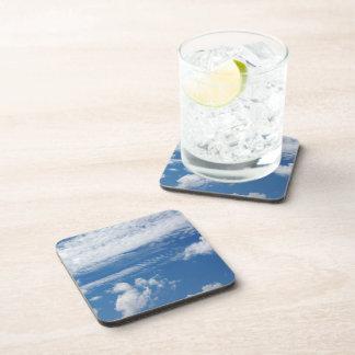 Fishbone Cloud Beverage Coaster