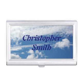 Fishbone Cloud Business Card Holder