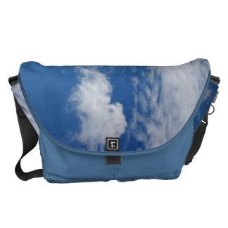 Fishbone Cloud Courier Bag