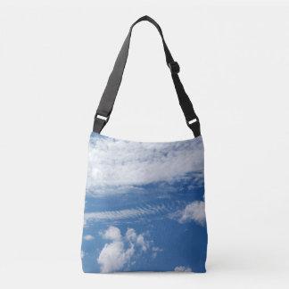 Fishbone Cloud Crossbody Bag