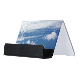 Fishbone Cloud Desk Business Card Holder