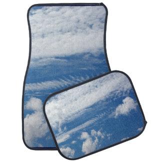 Fishbone Cloud Floor Mat