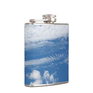Fishbone Cloud Hip Flask