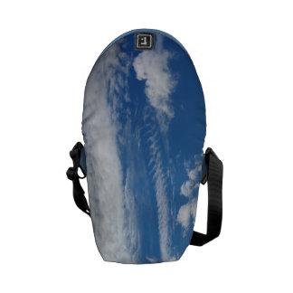 Fishbone Cloud Messenger Bag