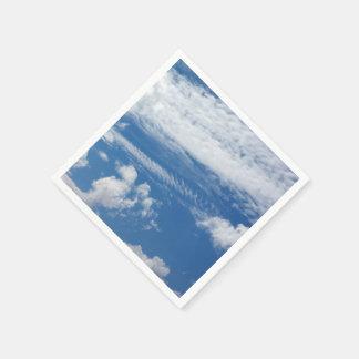 Fishbone Cloud Paper Napkin