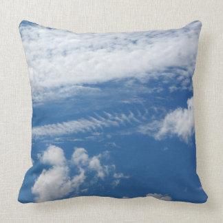 Fishbone Cloud Throw Pillow