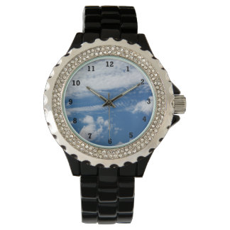 Fishbone Cloud Wrist Watch