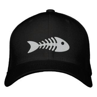 Fishbone Embroidered Baseball Caps