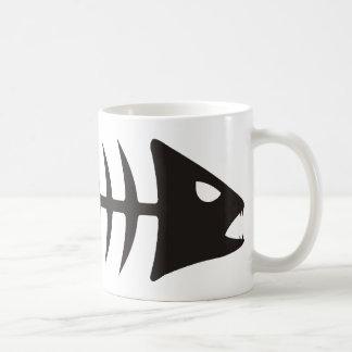 Fishbone - fish fishbone coffee mug