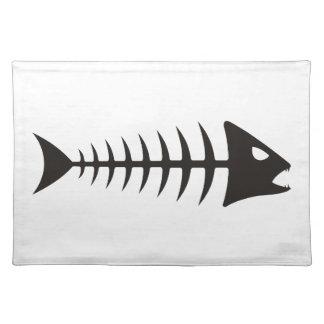 Fishbone - fish fishbone placemat